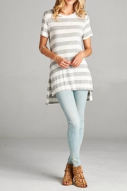 Goldspark Leigh Striped Tunic - Product Mini Image