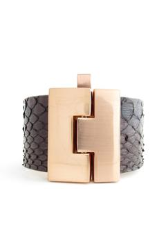 Shoptiques Product: Black Anaconda Cuff