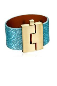 Leighelena Turquoise Stingray Cuff - Product List Image