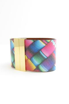 Shoptiques Product: Wide Leather Cuff