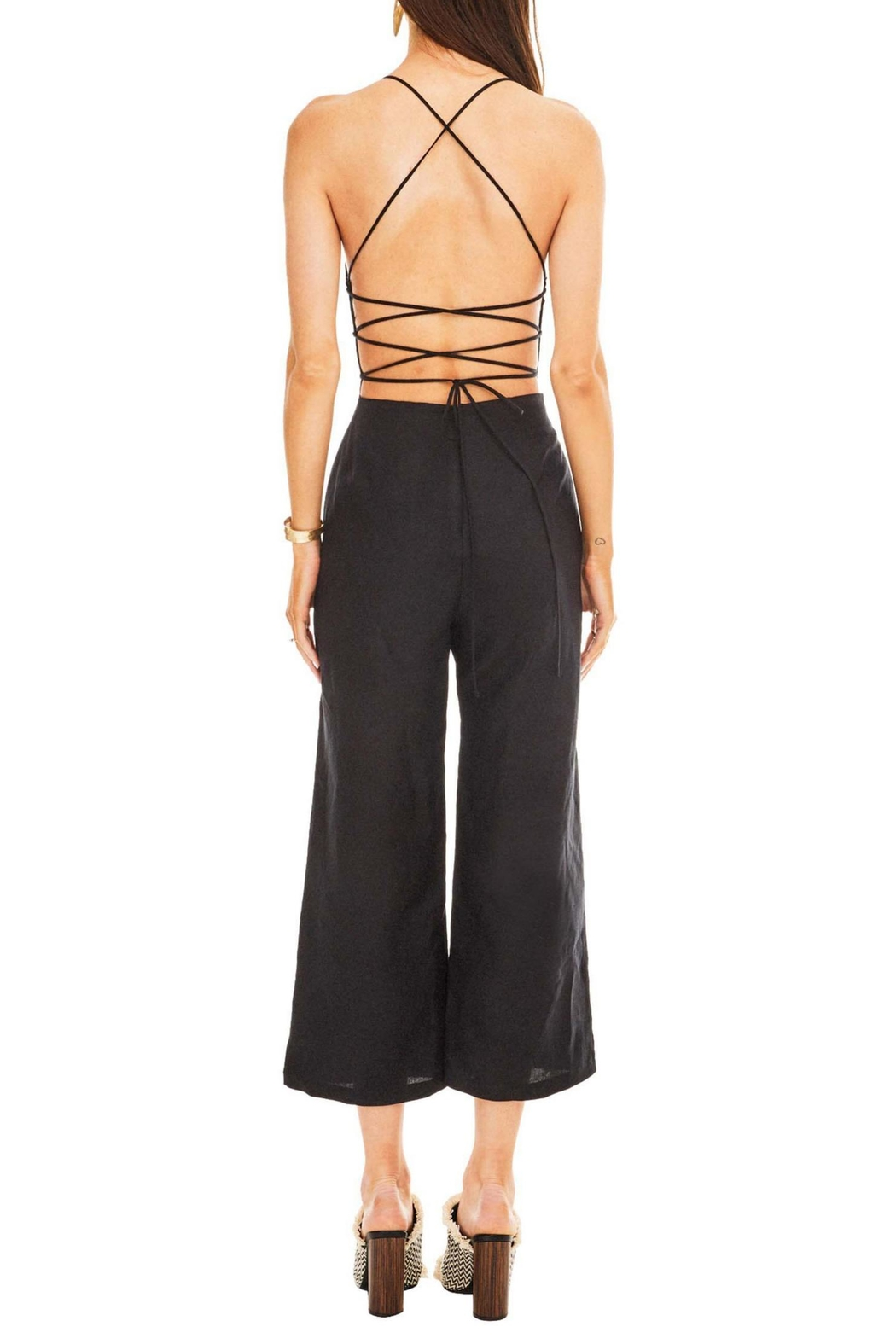 ASTR Leighton Jumpsuit - Side Cropped Image