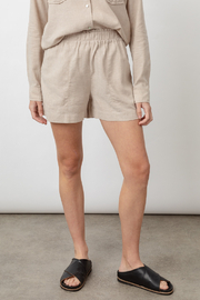 Rails Clothing LEIGHTON LINEN SHORT - Front cropped