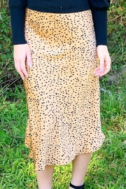 Trend Notes  Leila Cheetah Skirt - Front full body