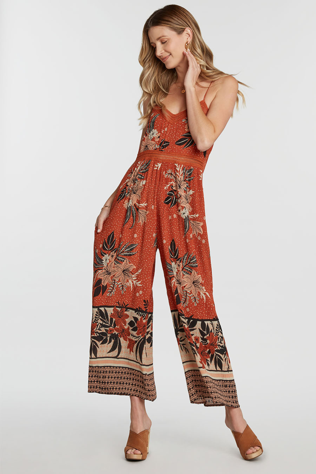Patrons of Peace Leila Jumpsuit - Front Cropped Image