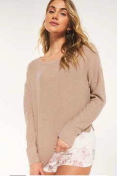 z supply Leila rib long sleeve - Product List Image