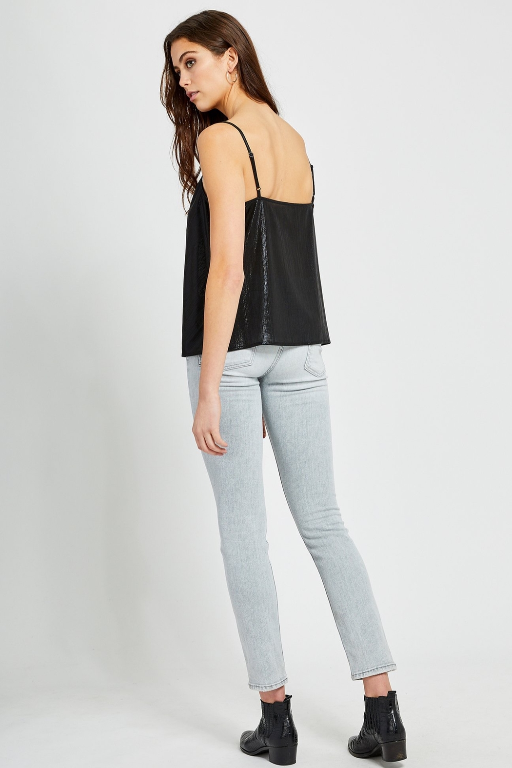 Gentle Fawn Leith Metallic Tank - Side Cropped Image
