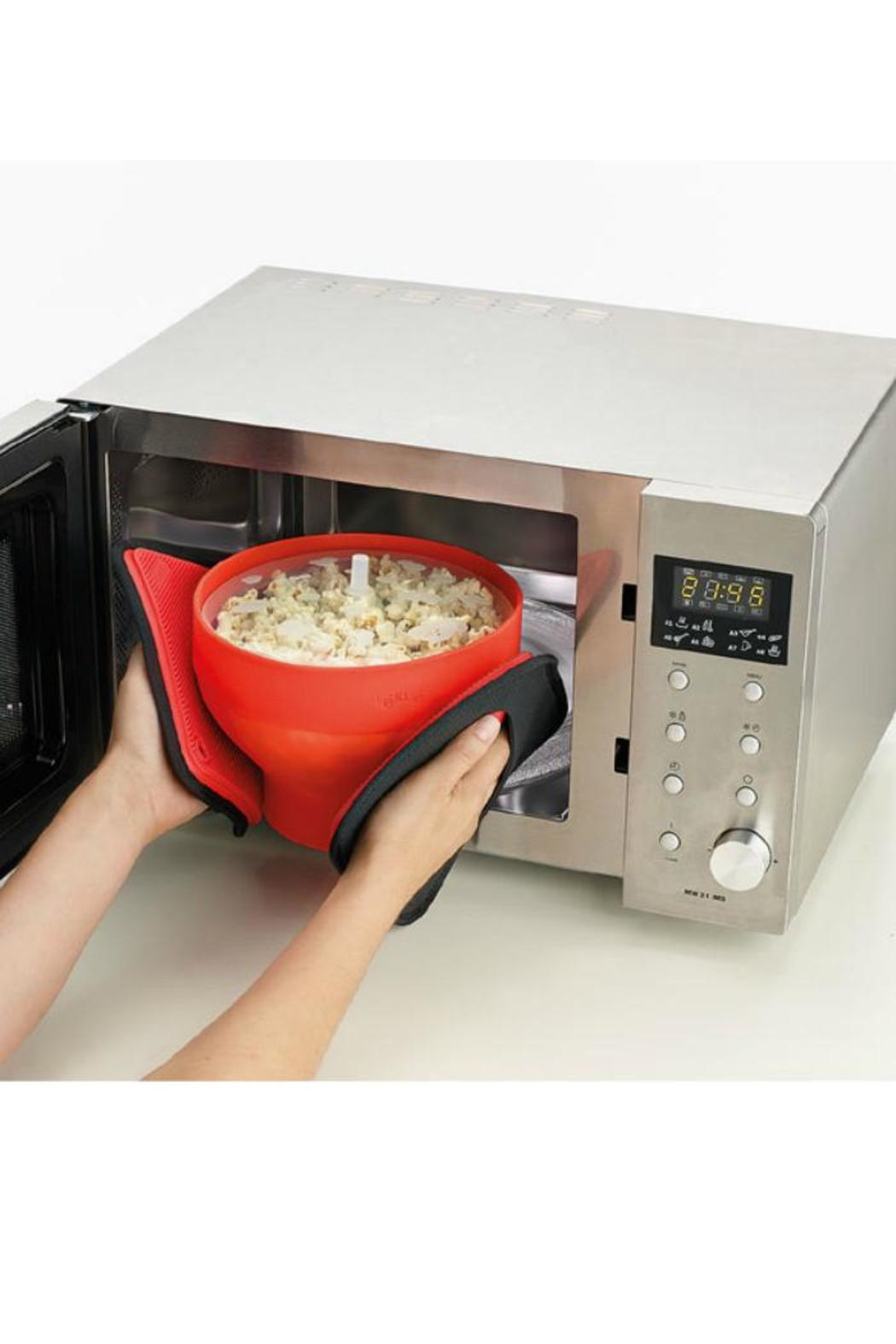 Lekue Microwave Popcorn Maker - Side Cropped Image