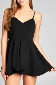 Active Basic Lela Black Romper - Product Mini Image