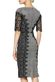 Lela Rose  Lace Placed Dress - Front full body
