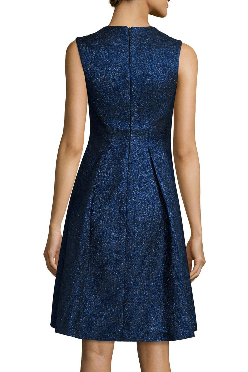 Lela Rose  V-Neck Dress - Front Full Image