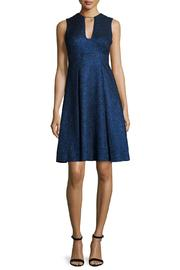 Lela Rose  V-Neck Dress - Front cropped