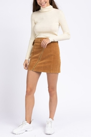 lelis Belted Corduroy Skirt - Product Mini Image