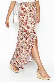 lelis Floral Wrap Skirt - Product Mini Image