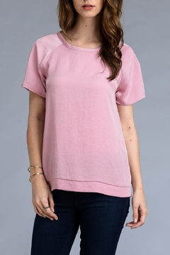 Shoptiques Product: Mauve Satin Top
