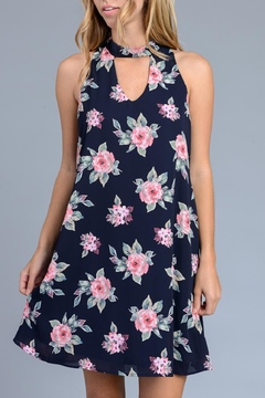 Shoptiques Product: Navy Floral Dress