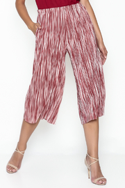 lelis Striped Flare Pants - Product Mini Image