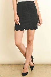 lelis Scalloped Trim Skirt - Product Mini Image