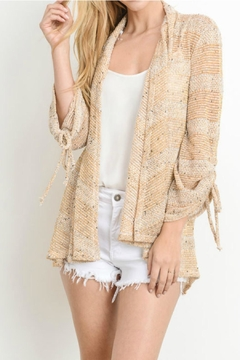 lelis Tied Sleeve Cardigan - Product List Image