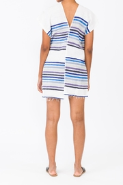 Lemlem  Candace Blue Cover Up - Front full body