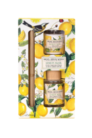 Michel Design Works Lemon Basil Diffuser Set - Product Mini Image