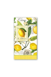 Michel Design Works Lemon/basil Hostess Napkin - Product Mini Image
