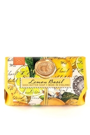 Michel Design Lemon Basil Large Bath Soap Bar - Product Mini Image