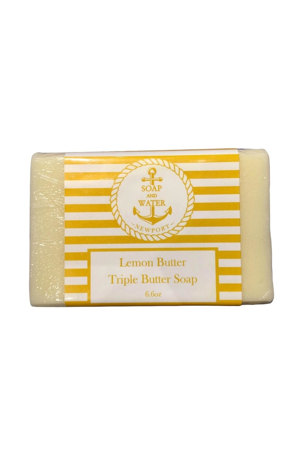 Soap and Water Newport LEMON BUTTER BAR SOAP - Front Cropped Image