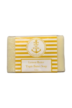 Soap and Water Newport LEMON BUTTER BAR SOAP - Product List Image