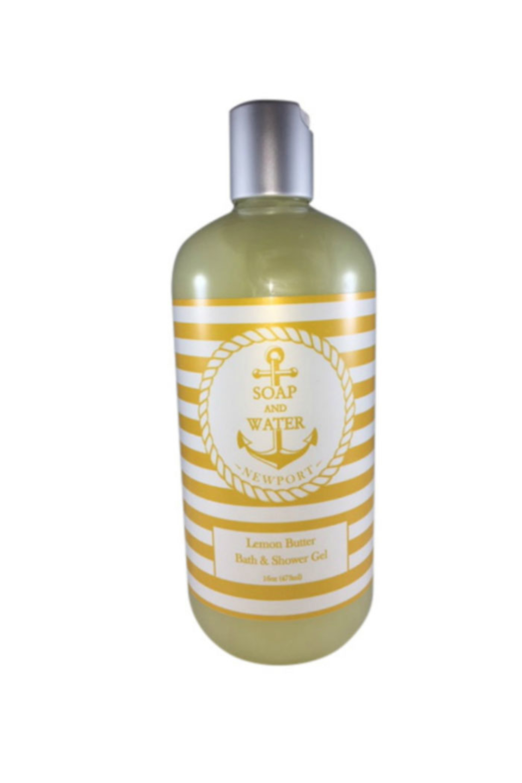 Soap and Water Newport LEMON BUTTER BODY WASH - Main Image