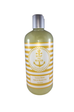 Soap and Water Newport LEMON BUTTER BODY WASH - Product List Image
