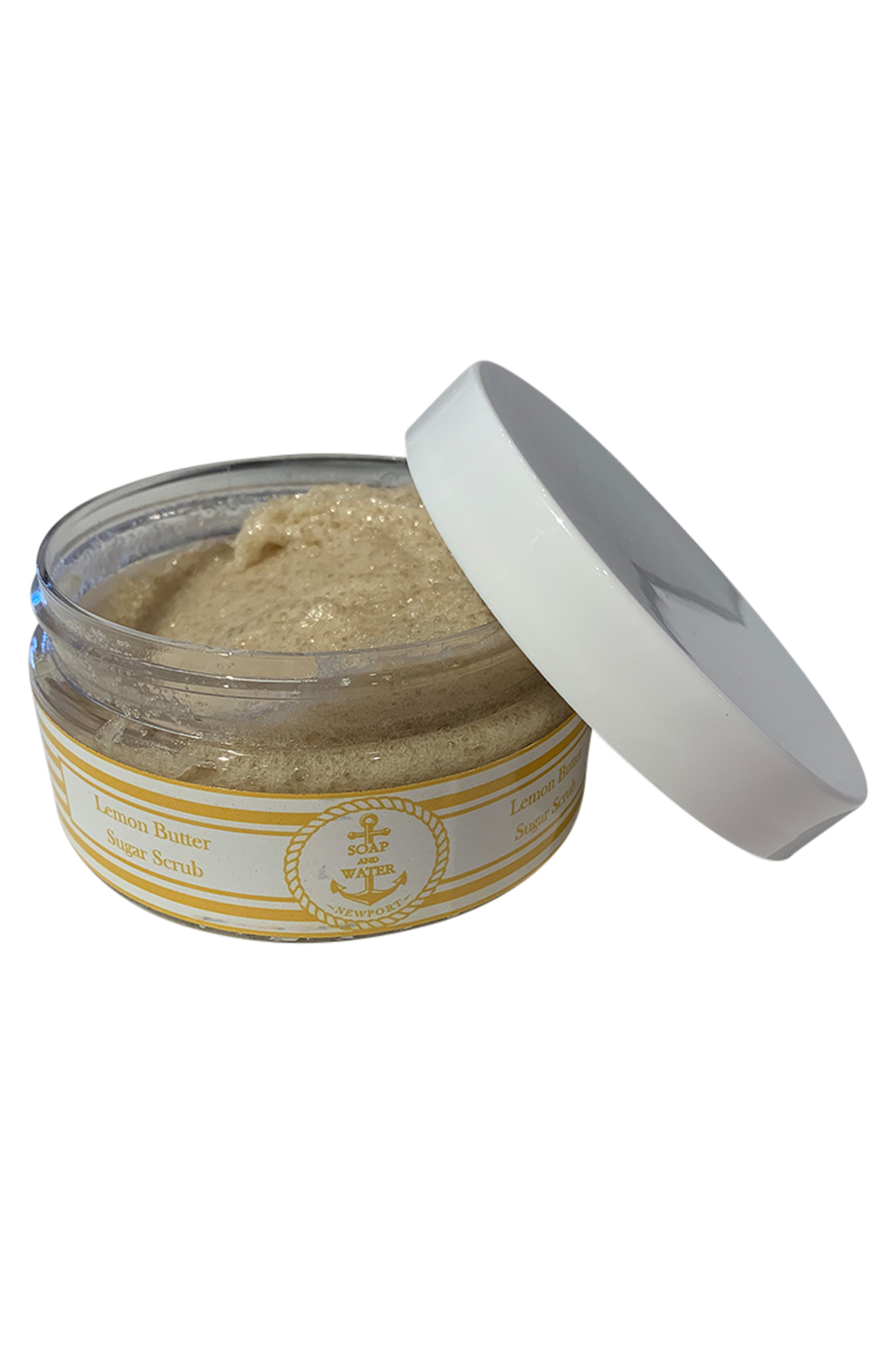 Soap and Water Newport LEMON BUTTER BROWN SUGAR SCRUB - Front Cropped Image