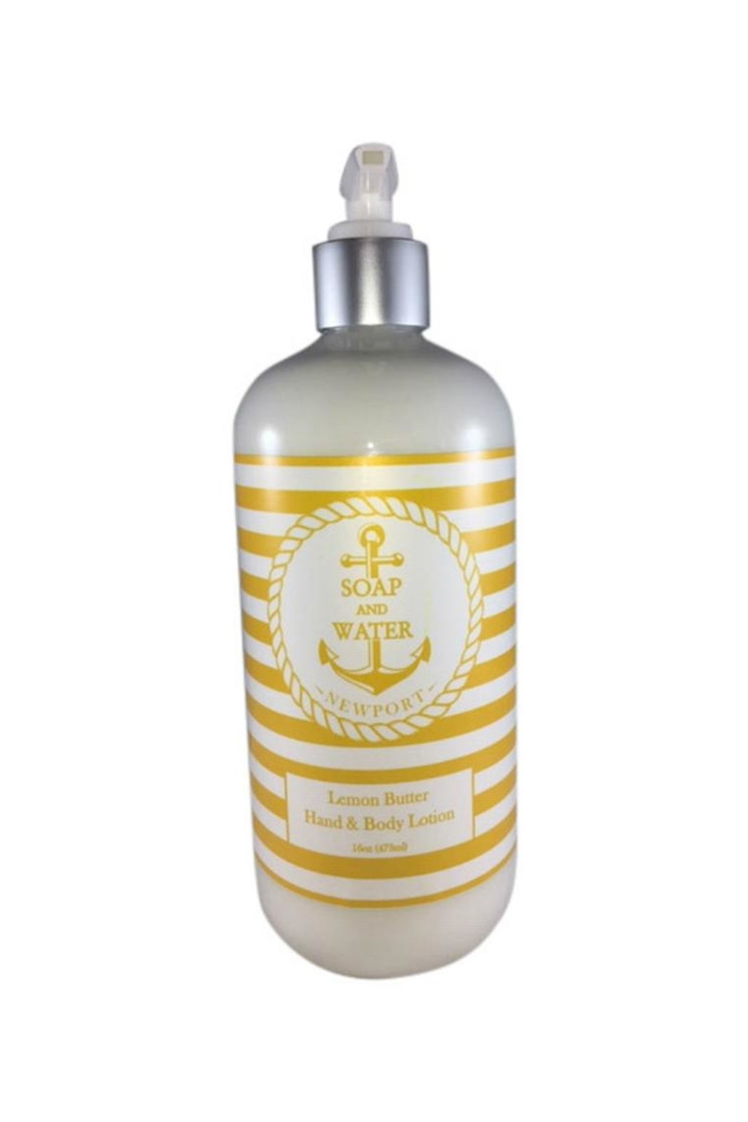 Soap and Water Newport LEMON BUTTER HAND/BODY LOTION - Main Image