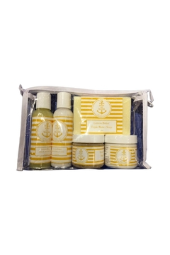 Soap and Water Newport LEMON BUTTER TRAVEL SKINCARE BAG - Product List Image
