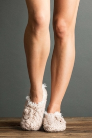 lemon Cable Fur Slippers - Product Mini Image