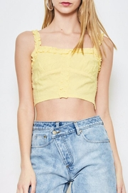etophe studios Lemon Crop Top - Product Mini Image