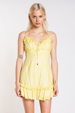 Skylar & Madison Lemon Drop Floral Dress - Product List Image