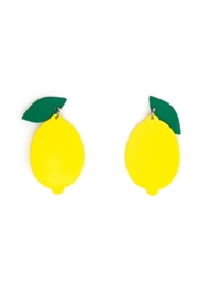 Tselaine Lemon Earrings - Product Mini Image