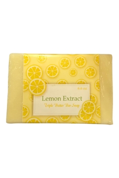 Soap and Water Newport Lemon Extract Barsoap - Alternate List Image