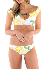 Azure Swimwear Lemon Jassmine Top - Product Mini Image