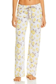 PJ Salvage Lemon Print Bottoms - Product Mini Image