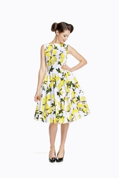 Shoptiques Product: Lemon Print Dress