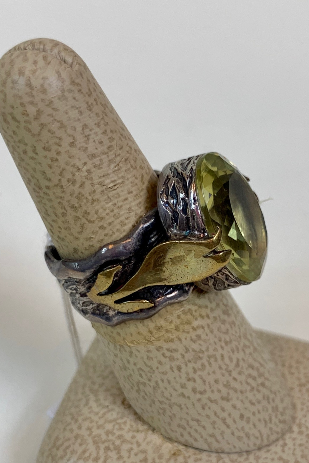 BORA ENTERPRESES INC. LEMON QUARTZ RING - Front Full Image
