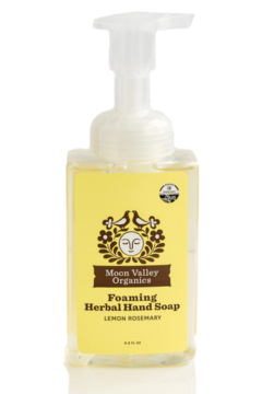 Moon Valley Organics - Faire Lemon Rosemary Foaming Soap - Alternate List Image