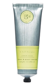 K Hall Studio Lemon Sage Hand & Body Lotion - Product Mini Image