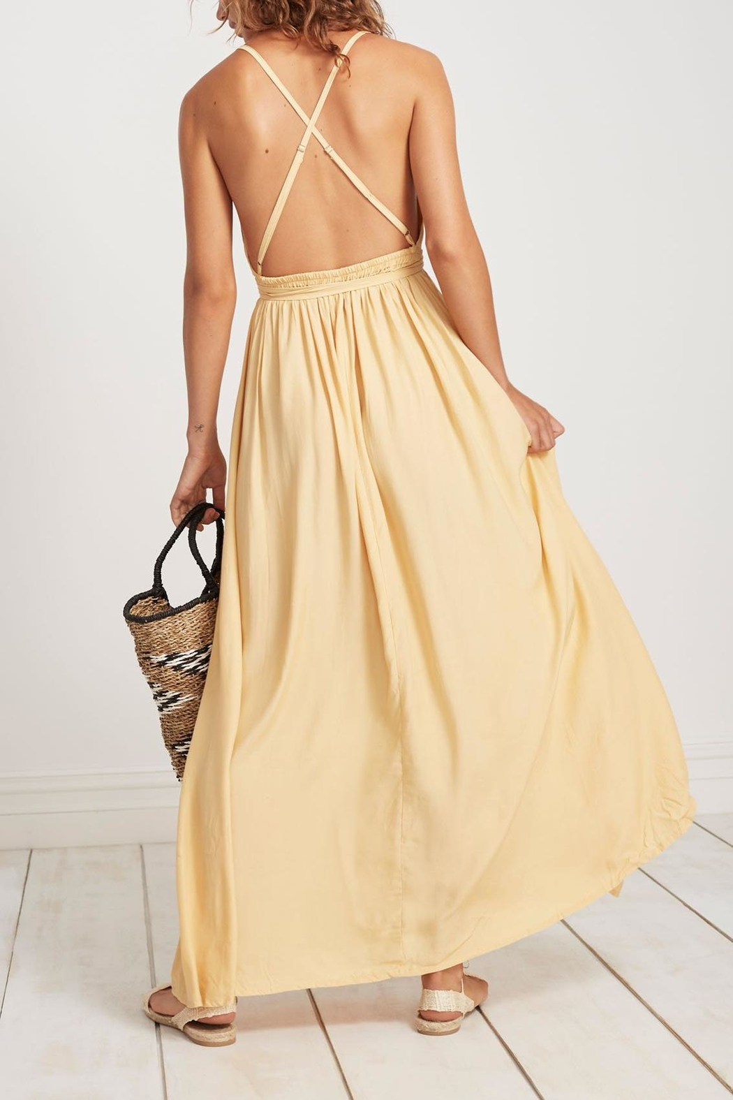56a2681ed3 Faithfull The Brand Lemon Sorbet Maxi from Los Angeles by Tags ...
