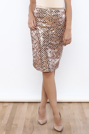 Lemon Tree Sequin Skirt - Product Mini Image