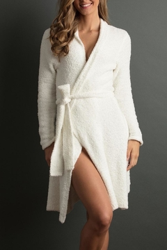 lemon Soft Plush Robe - Alternate List Image