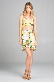 Racine Lemon Two-Piece Set - Front full body
