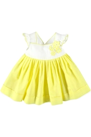 Mayoral Lemon Voile Dress - Front cropped