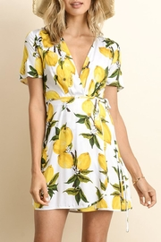 dress forum Lemon Wrap Dress - Product Mini Image